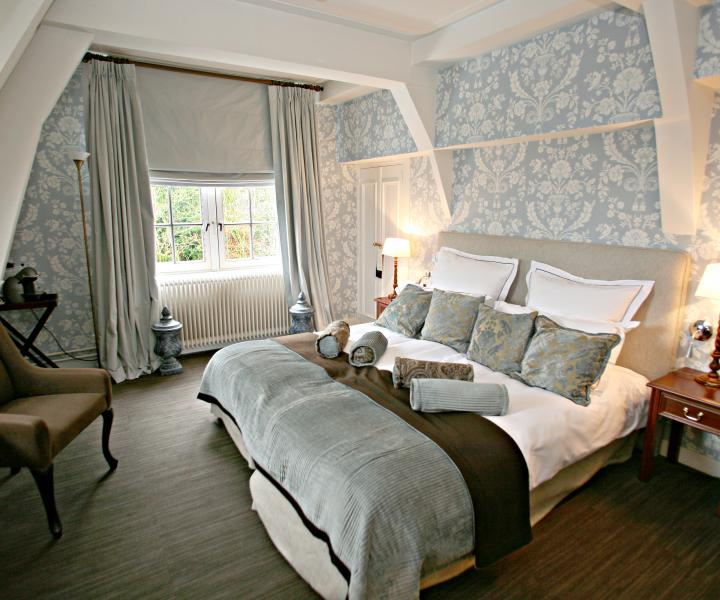 A beautiful hotel room on a estate in Santpoort, Haarlem.